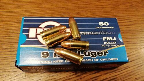 9mm Luger PPU Partizan FMJ