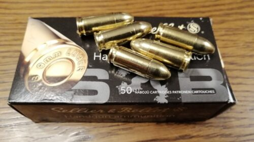 9mm Luger S&B FMJ 7,5g