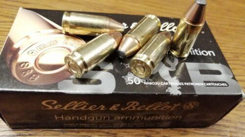 9mm Luger S&B SP 6,5g