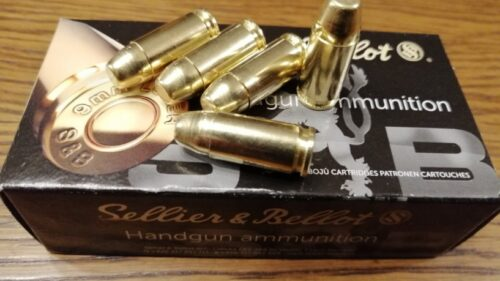 9mm Luger S&B Subsonic 9,0g