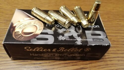 9mm Luger S&B Subsonic 9,7g