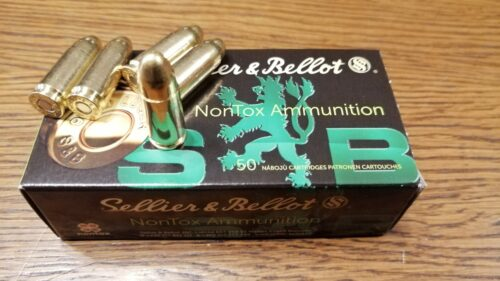 9mm Luger S&B TFMJ NONTOX 7,5g