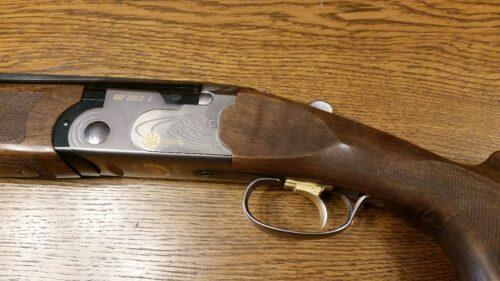 Bok Beretta 682 E Gold Double Trap lufy 76cm, wymienny czok w dolnej lufie